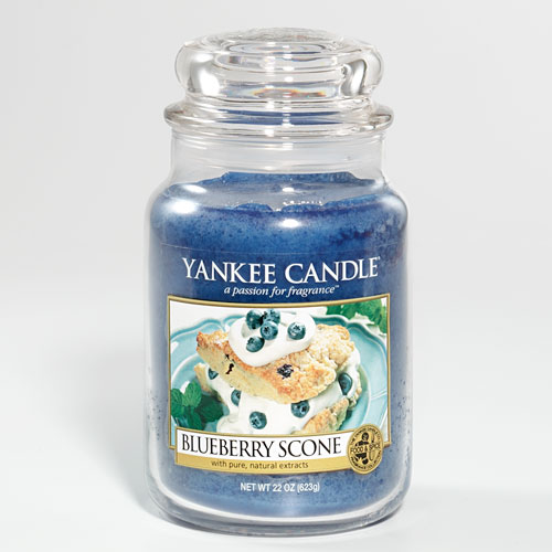 Yankee Candle blueberry scone Housewarmer
